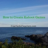 How to Create Kahoot Games | 21 century teaching and learning | Scoop.it