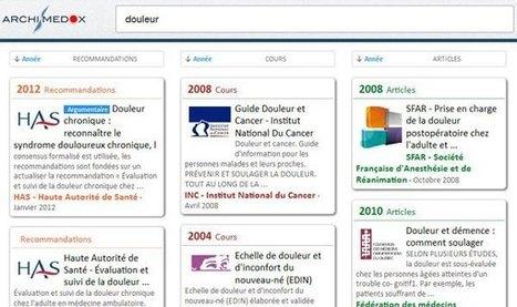Archimedox : moteur de recherche pour les professionnels de santé | Aie-Santé | Scoop.it