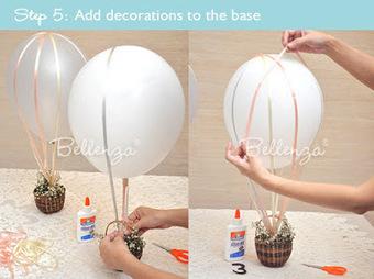 ideas originales para bodas cmo hacer unos originales centros de mesa con globos