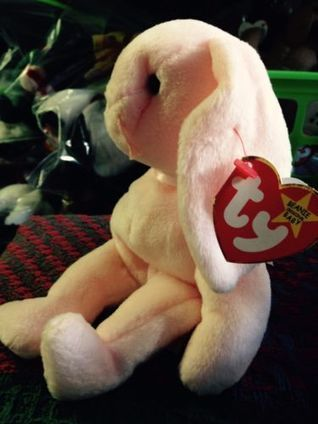 Check out  Hoppity  Ty  PinkBunny  tagerrors (Origiinal)  BeanieBabies fe5ff96584df