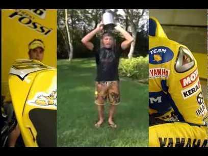 Valentino Rossi - ALS Ice Bucket Challenge - YouTube | Ductalk Ducati News | Scoop.it
