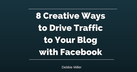 8 Ways to Drive Traffic to Your Blog with Facebook | Pinterest Has a cool New Virtual Reading Room! | Scoop.it