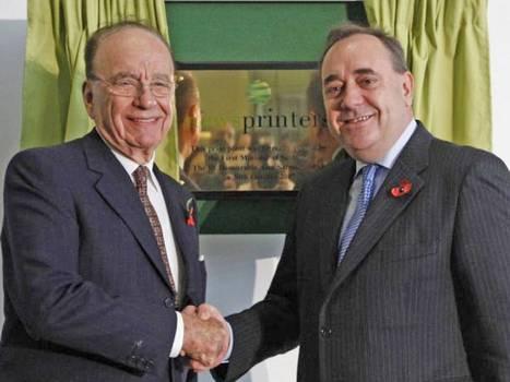 SNP leader Alex Salmond faces referendum rethink as sun sets on alliance with Rupert Murdoch's News International | Unionist Shenanigans | Scoop.it
