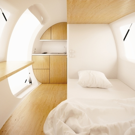 The eco-capsule: A movable, environmentally-friendly mini home | ceramics and art | Scoop.it