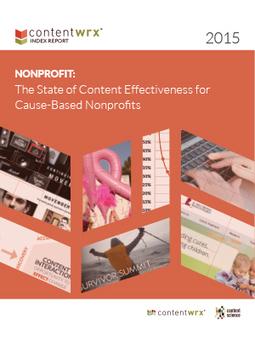 ContentWRX Index: Nonprofit Infographic | Nonprofit Storytelling | Scoop.it