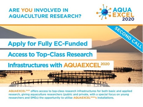 H2020 New Call for Access   Aquaculture Directory   Scoop.it