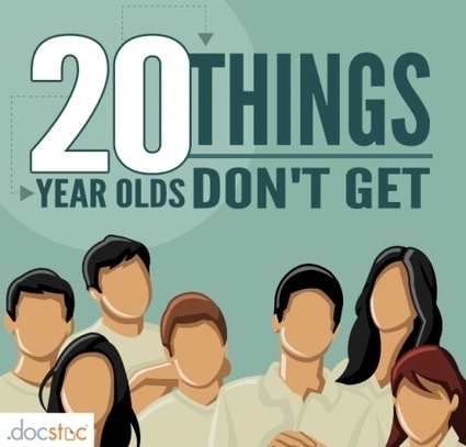 20 Things 20-Year-Olds Don't Get | CEO Leadership | Scoop.it