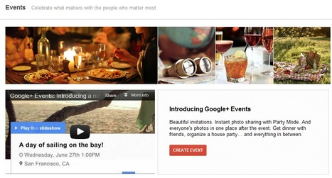 How to Use Events on Google Plus | The Social Media Scoop | Scoop.it