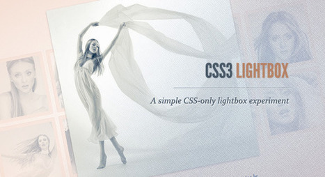 CSS3 Lightbox | Webdesign code | Scoop.it