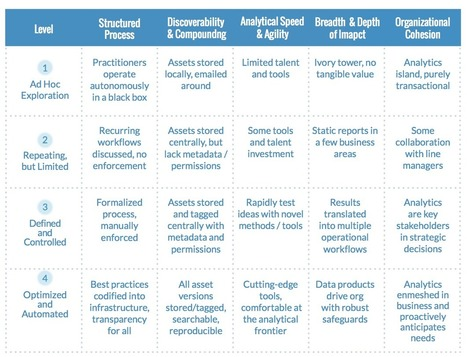 Introducing the Data Science Maturity Model | Data is big | Scoop.it