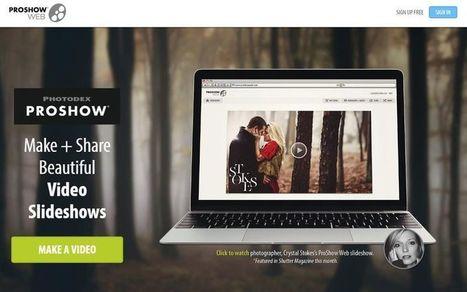 ProShow, crea vídeos a partir de tus fotos con esta utilidad web | eines video digital | Scoop.it