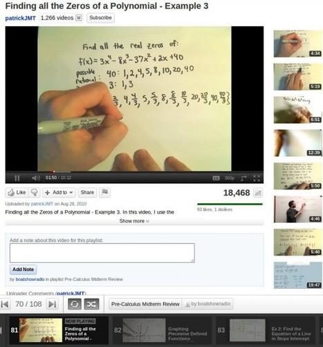 Estudiando con Youtube y Google Plus   e-learning y aprendizaje para toda la vida   Scoop.it