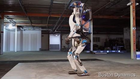 L'époustouflante démo d'Atlas, le robot humanoïde de Google | Sciences & Technology | Scoop.it
