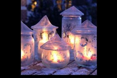Come fare lanterne riciclando vasetti  e barattoli | BricoService - Manutenzioni residenziali | Scoop.it