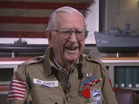 """A """"living artifact"""" of WWII shares his story 