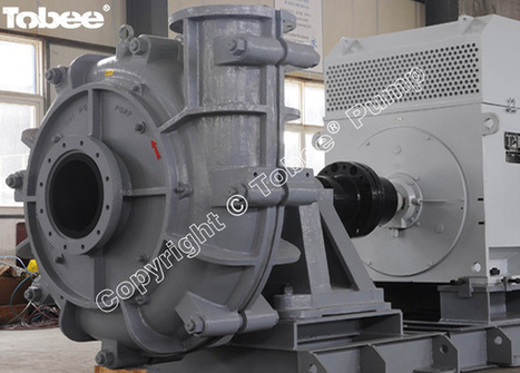 China Warman 14/12 AH Rubber Lined Slurry Pumps