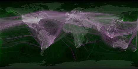 World travel and communications recorded on Twitter | KgTechnology | Scoop.it