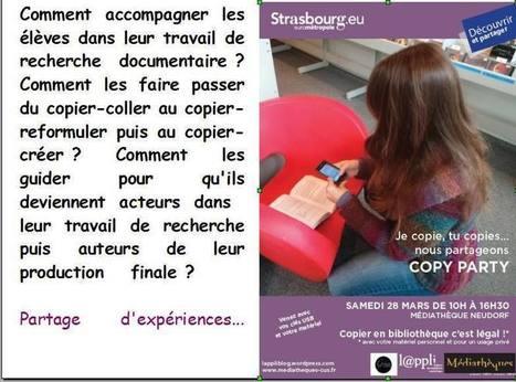 """Copy party à Strasbourg : """"le document de collecte"""" ou comment permettre à l'élève d'être acteur, auteur de ses recherches. Partage d'expériences (diaporama) - Didacdoc. Mon blog-doc   Le document de collecte   Scoop.it"""