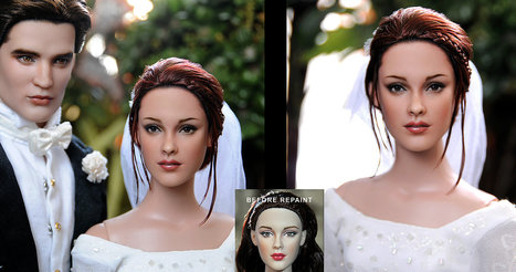 Breaking Dawn Bella doll by *noeling on deviantART | Fashion Dolls | Scoop.it