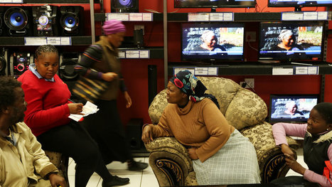 Africans Open Fuller Wallets to the Future | Mrs. Watson's Class | Scoop.it
