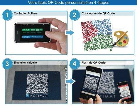 Paillasson QRcode | QRdressCode | Scoop.it