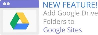 How to Add Google Drive Folders to Your Google Site - Land Surveyors United | Land Surveying | Scoop.it