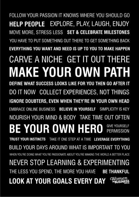 10 Insanely Awesome Inspirational Manifestos | Just Story It! Biz Storytelling | Scoop.it