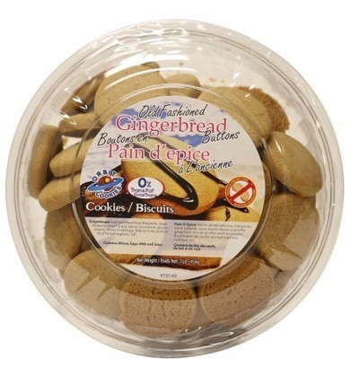 Peanut-free facility :: Old Fashioned Gingerbread Button Tub | Christmas Goodies | Scoop.it