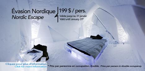 Hotel de Glace — Quebec City's Ice Hotel | C RE- ACTIVE WORLD | Scoop.it