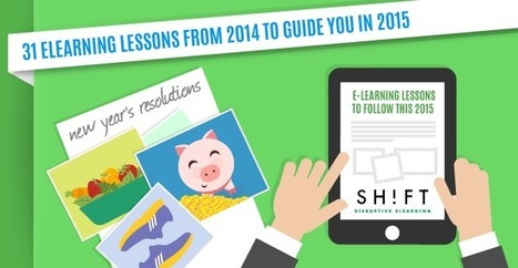 31 eLearning Lessons from 2014 to Guide You in 2015 | Bites of Reality | Scoop.it