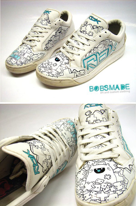 Awesome Custom Shoes Designs Created By Graphic Designers   Xposed   Scoop.it