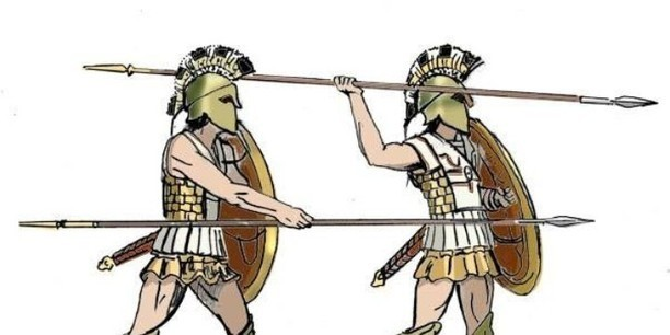 the spartan military Sparta was an ancient greek city located on the evrotas river in laconia,  surrounded by mountains sparta was a military state and had a fulltime army to.