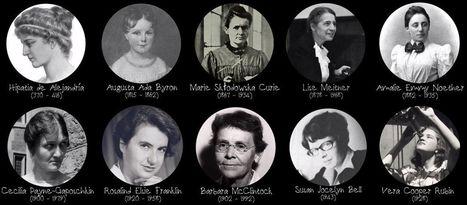 Grandes mujeres de la ciencia | En la red | Mujeres con ciencia | Matemáticas curiosas. Curiosidades matemáticas. | Scoop.it