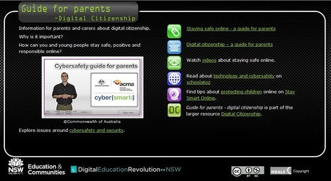 Guide for parents - digital citizenship | Middle School Mania | Scoop.it