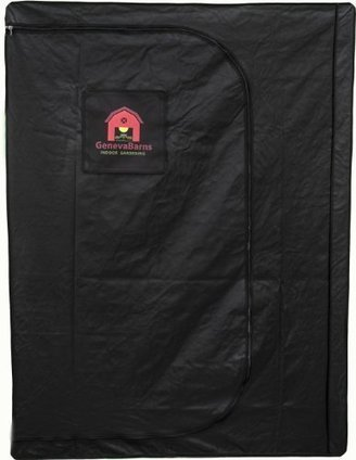Geneva Barns GB55DW Reflective Hydroponic Grow Tent with D-Zipper 60  Wide x 60  Deep x 78  High & Tentu0027 in Best Grow Lights u0026 Greenhouses Kits Reviews Page 3 | Scoop.it