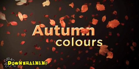 Creating Autumn Motion Graphics with Trapocode Particular ... | Digitized media | Scoop.it