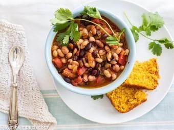 Spicy three-bean chipotle chili [Vegan] | My Vegan recipes | Scoop.it