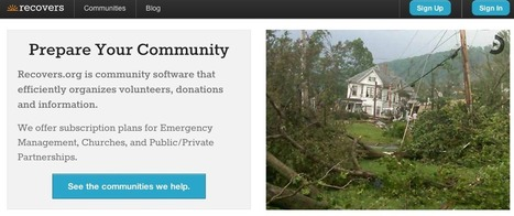 Tech-enabled groups, tools provide nimble aid after Hurricane Sandy | JWT Intelligence | Futurewaves | Scoop.it