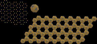 A novel form of artificial graphene: Two-Dimensional Semiconductors with a Honeycomb Nanogeometry | Amazing Science | Scoop.it