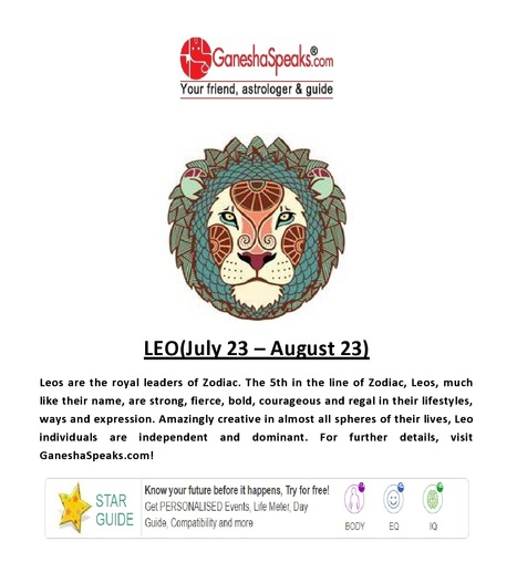 How can you analyze the presence of moon in Leo