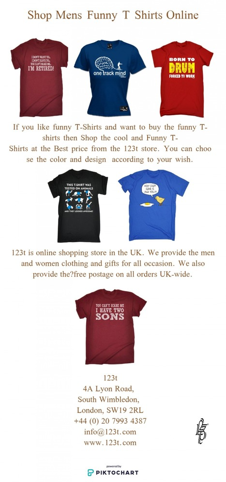 86289839 Buy Mens Funny T Shirts Online | 123t UK | Scoop.it