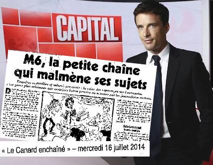 """""""Le Canard Enchaîné"""" accuse M6 d'avoir trappé plusieurs sujets de """"Capital""""   DocPresseESJ   Scoop.it"""
