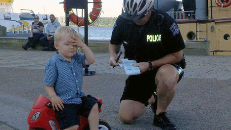 Canadian police give (blank) ticket to 3yo 'ruthless bike... - justpaste.it | ProNews | Scoop.it