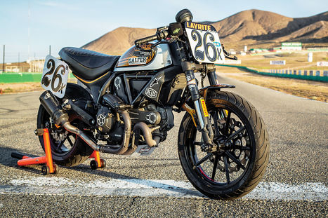 Ducati Scrambler Commuter, Trailbike, and Racer All Rolled into One | Ductalk Ducati News | Scoop.it