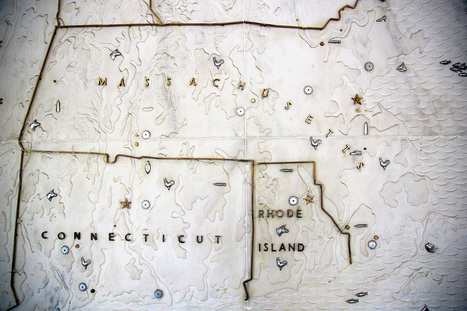 This Gigantic Marble Map of New England Needs a New Home | Rhode Island Geography Education Alliance | Scoop.it