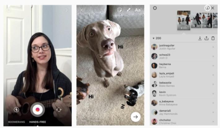 Instagram annonce les stickers, le mode main libre, la sauvegarde dans les stories - Socialshaker | Médias sociaux : Conseils, Astuces et stratégies | Scoop.it