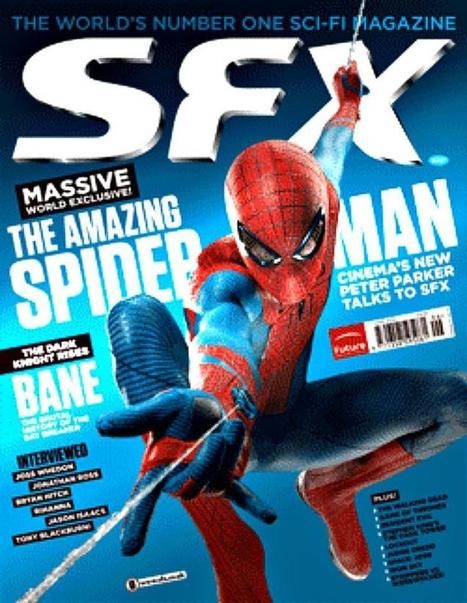 SPIDER-MAN Graces The Cover Of SFX Magazine, Andrew Garfield Says Spidey Is Like An Internet Troll | Sharing Is Caring | Scoop.it