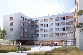 L'université de Nanterre construit en bois-béton R+4 - Cmp Bois | Ageka les matériaux pour la construction bois. | Scoop.it