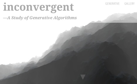 inconvergent · A Study of Generative Algorithmsby Anders Hoff | Digital #MediaArt(s) Numérique(s) | Scoop.it