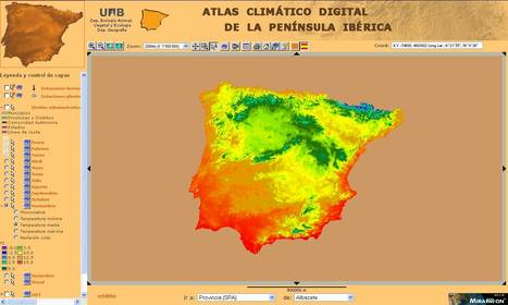 ATLAS CLIMÀTICO DIGITAL DE LA PENÍNSULA IBÉRICA | Historia y Mapas | Scoop.it